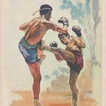 Единоборство тайский бокс