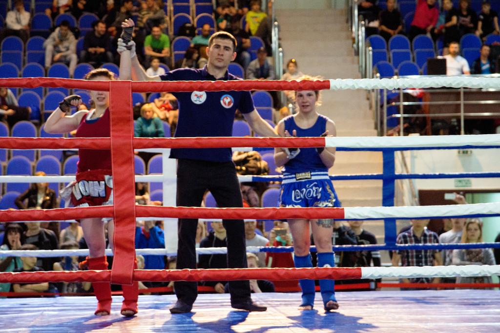 Городские соревнования по тайскому боксу школа Атака